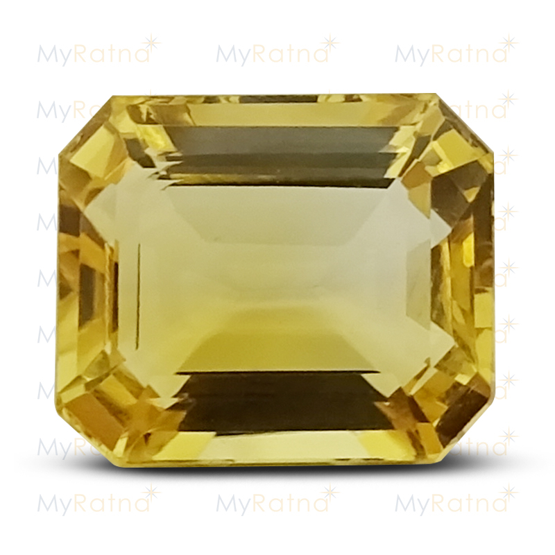 Certified Natural Citrine 4.41 Ct - Limited - MyRatna