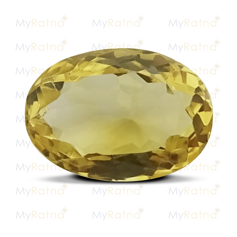 Certified Natural Citrine 4.03 Ct - Limited - MyRatna