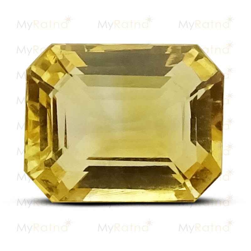 Certified Natural Citrine 3.38 Ct - Limited - MyRatna