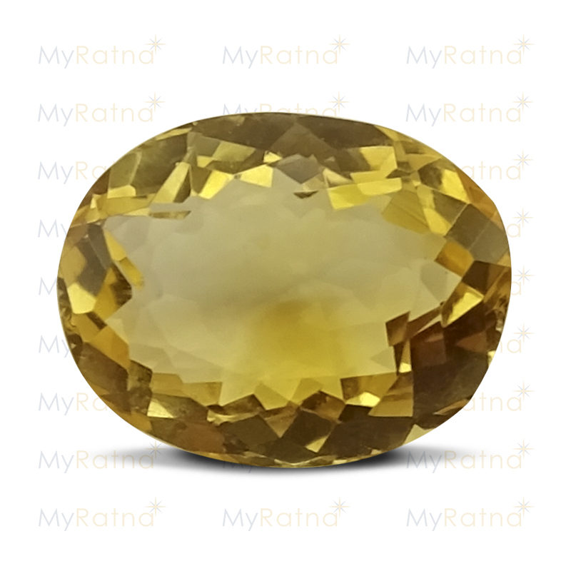 Certified Natural Citrine 3.9 Ct - Limited - MyRatna