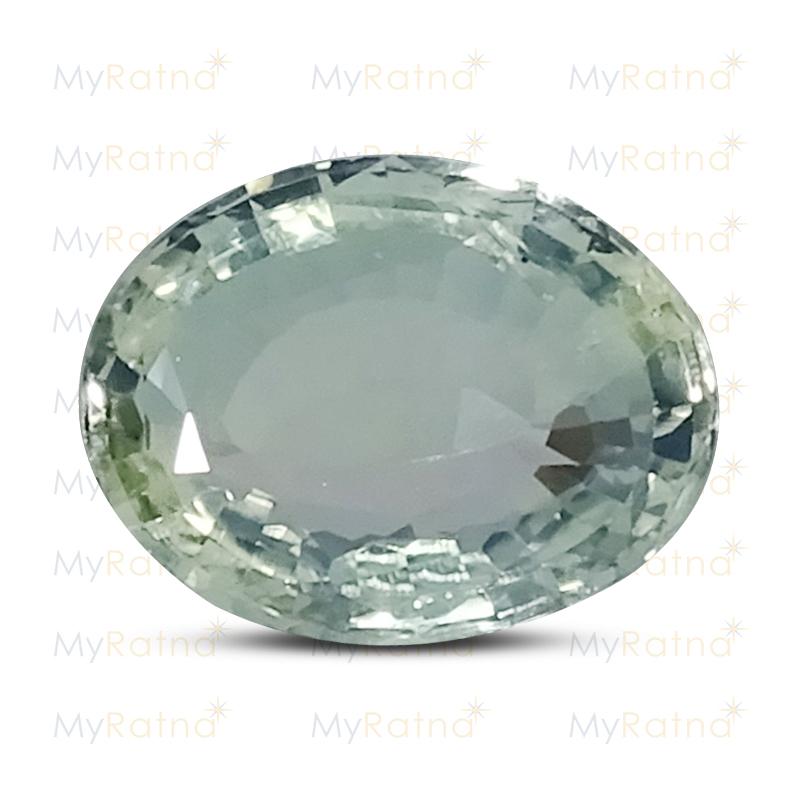 Natural White Sapphire (Pukhraj) Gemstone 3.01 Ct (Ceylon) - Fine - MyRatna