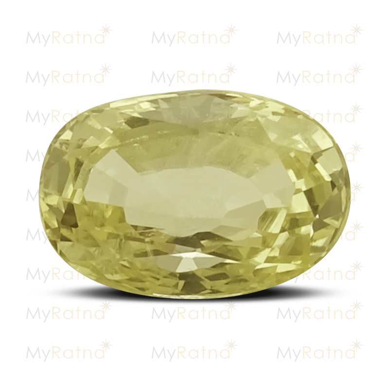 Certified Natural Yellow Sapphire 2.8 Ct (Ceylon) - Prime - MyRatna