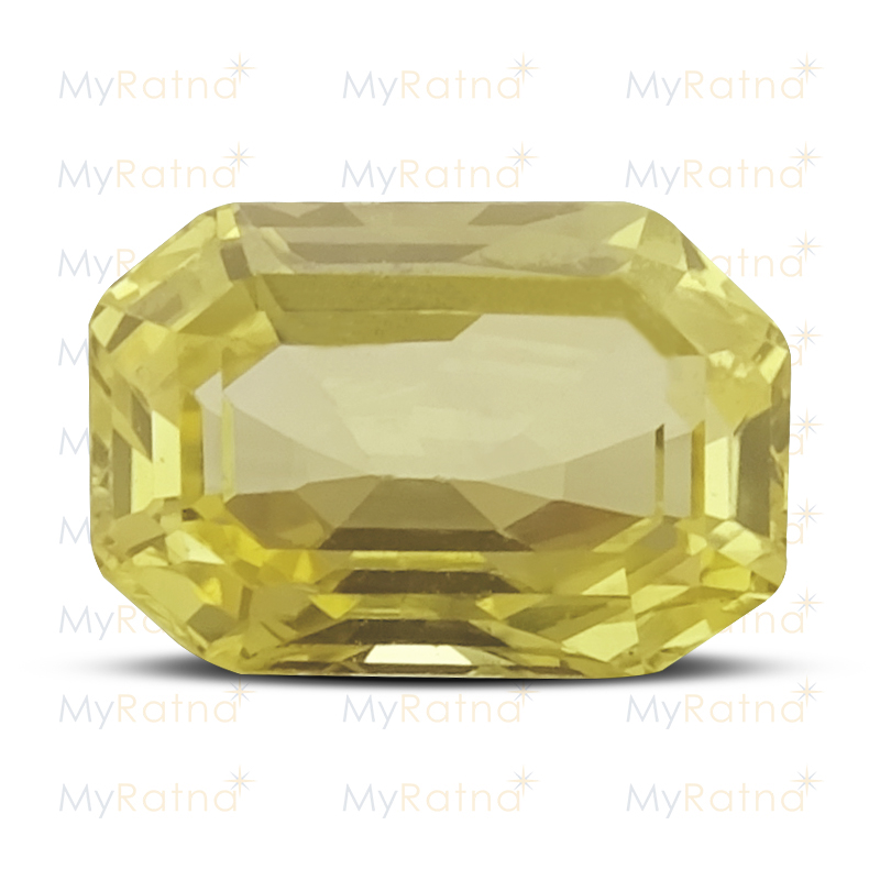 Certified Natural Yellow Sapphire 2.17 Ct (Ceylon) - Limited - MyRatna