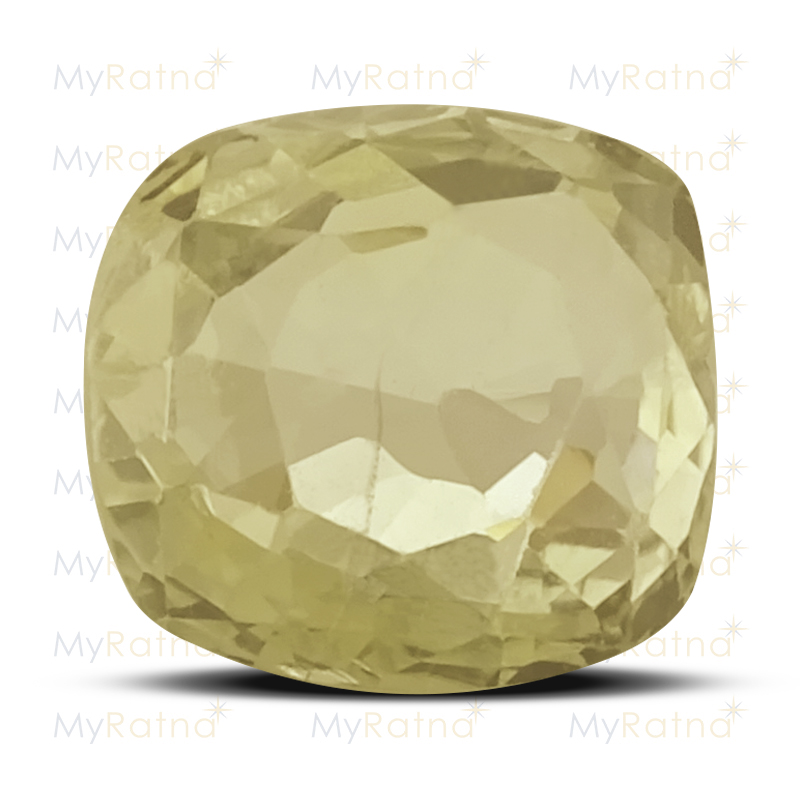 Certified Natural Yellow Sapphire 2.45 Ct (Ceylon) - Fine - MyRatna