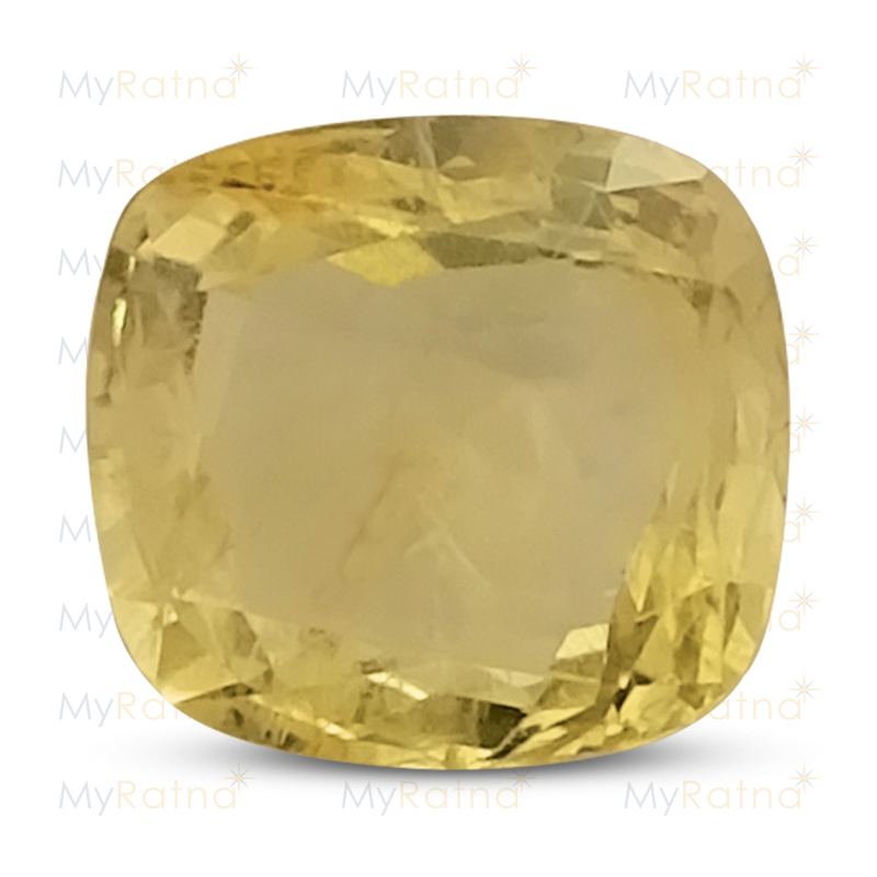 Certified Natural Yellow Sapphire 4 Ct (Ceylon) - Limited - MyRatna