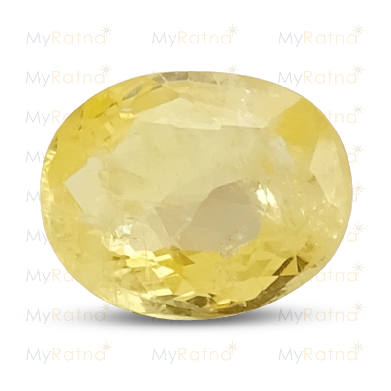 Certified Natural Yellow Sapphire 4.01 Ct (Ceylon) - Limited - MyRatna