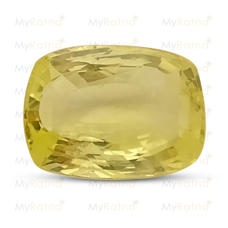 Certified Natural Yellow Sapphire 5.37 Ct (Ceylon) - Limited - MyRatna
