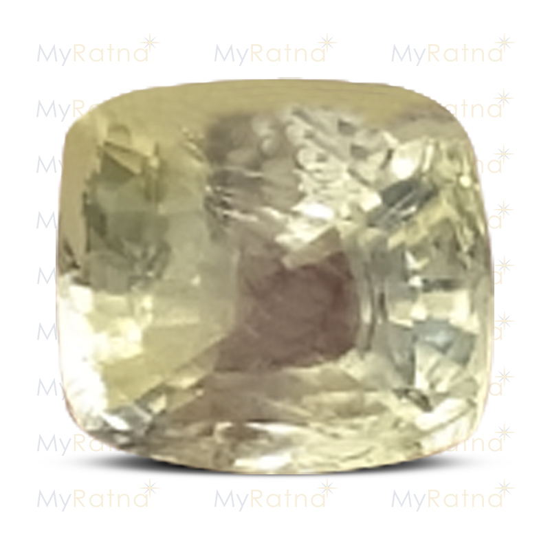 Certified Natural Yellow Sapphire 2.81 Ct (Ceylon) - Prime - MyRatna