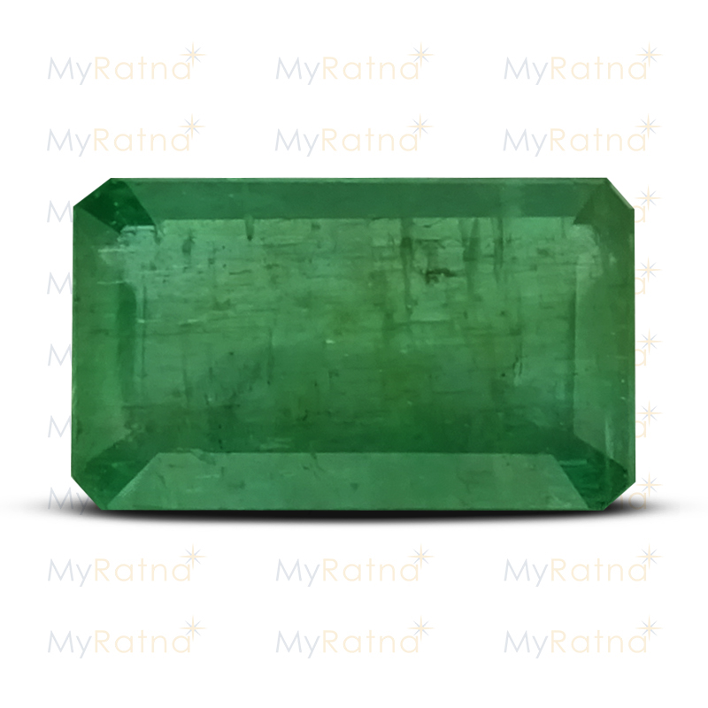 Certified Natural Emerald 4.39 Ct (Zambia) - Prime - MyRatna