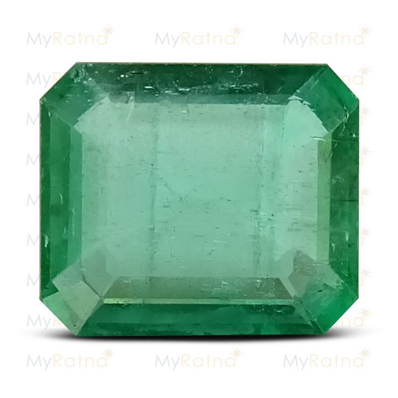 Certified Natural Emerald 3.38 Ct (Zambia) - Limited - MyRatna