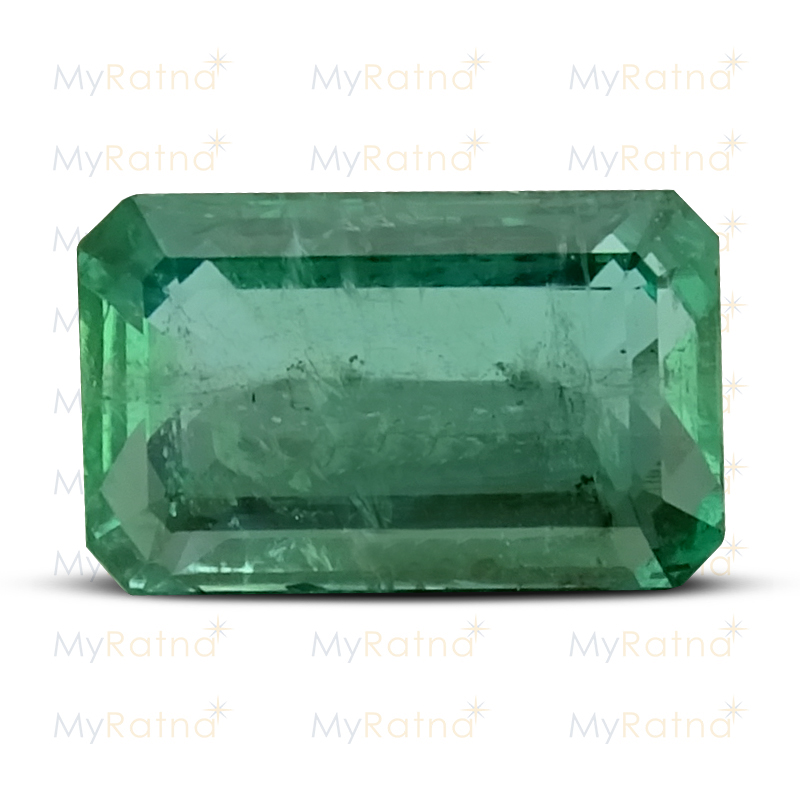 Certified Natural Emerald 3.49 Ct (Zambia) - Prime - MyRatna