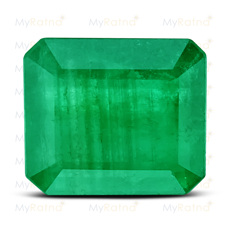 Certified Natural Emerald 2.96 Ct - Prime - MyRatna