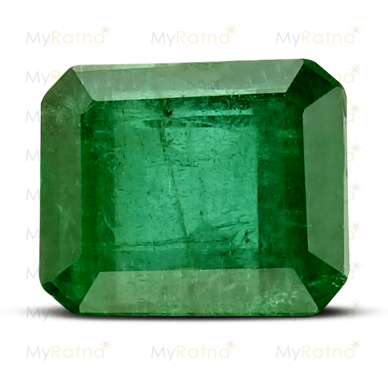 Certified Natural Emerald 3.39 Ct (Zambia) - Prime - MyRatna