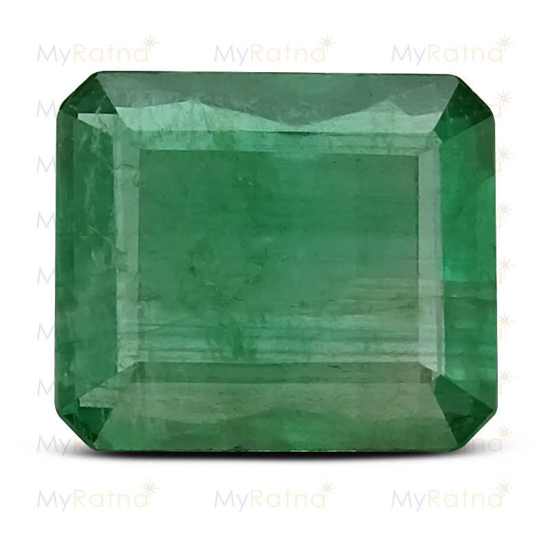 Certified Natural Emerald 3.46 Ct (Zambia) - Prime - MyRatna