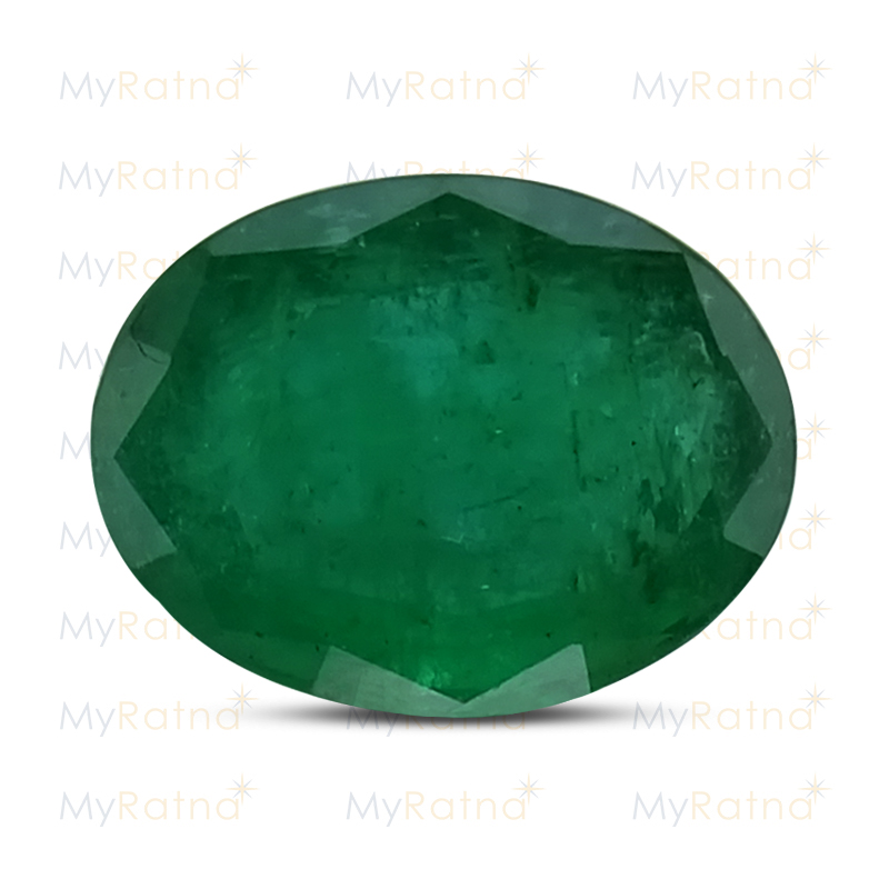 Certified Natural Emerald 5.86 Ct (Zambia) - Fine - MyRatna
