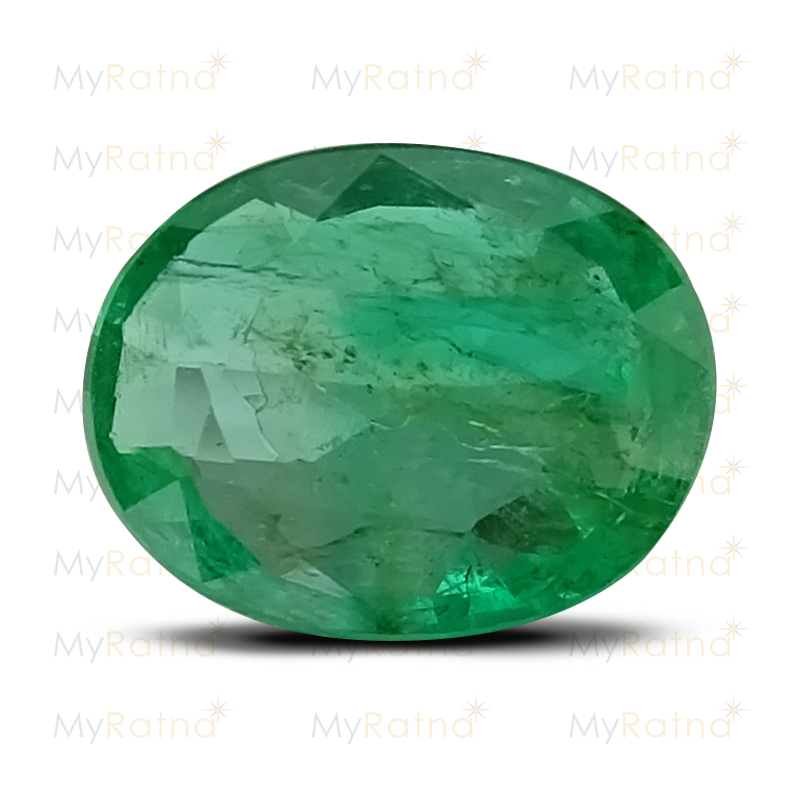 Certified Natural Emerald 3.99 Ct (Zambia) - Limited - MyRatna
