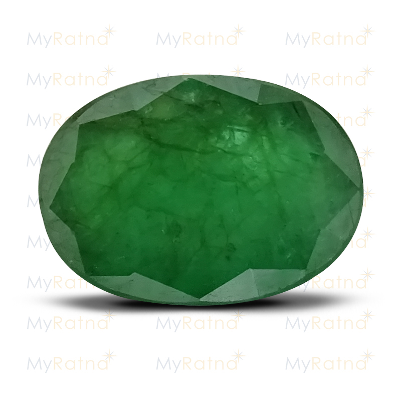 Certified Natural Emerald 3.93 Ct (Zambia) - Fine - MyRatna