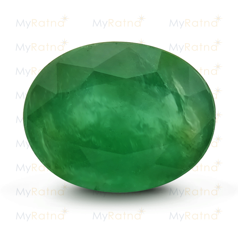 Certified Natural Emerald 4.14 Ct (Zambia) - Prime - MyRatna