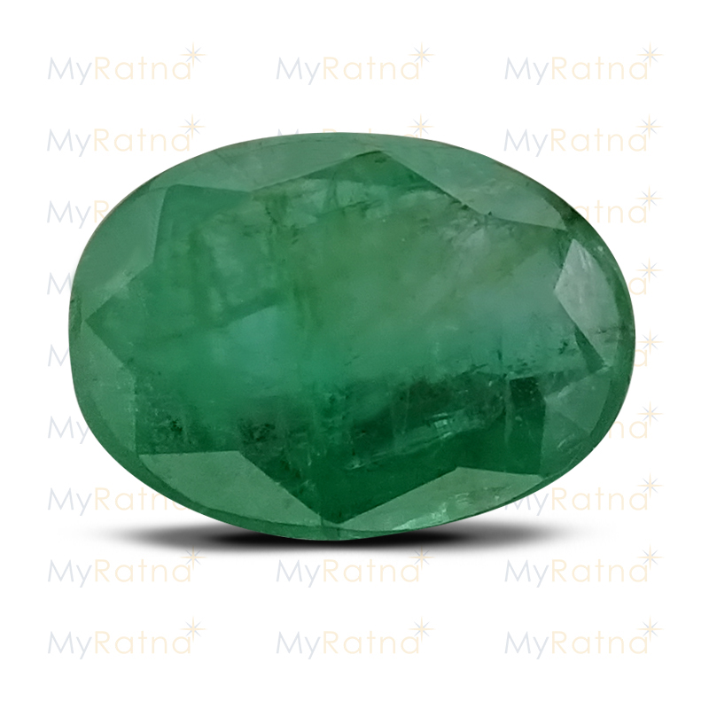 Certified Natural Emerald 3.76 Ct (Zambia) - Fine - MyRatna