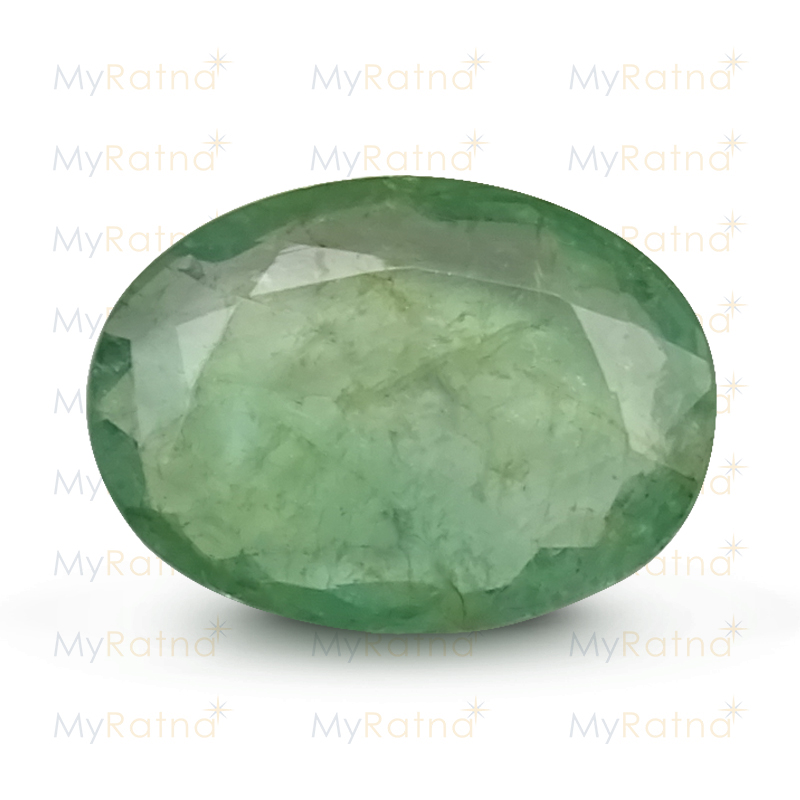 Certified Natural Emerald 4.94 Ct (Zambia) - Fine - MyRatna