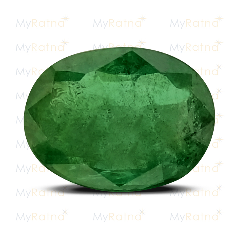 Certified Natural Emerald 3.51 Ct (Zambia) - Prime - MyRatna