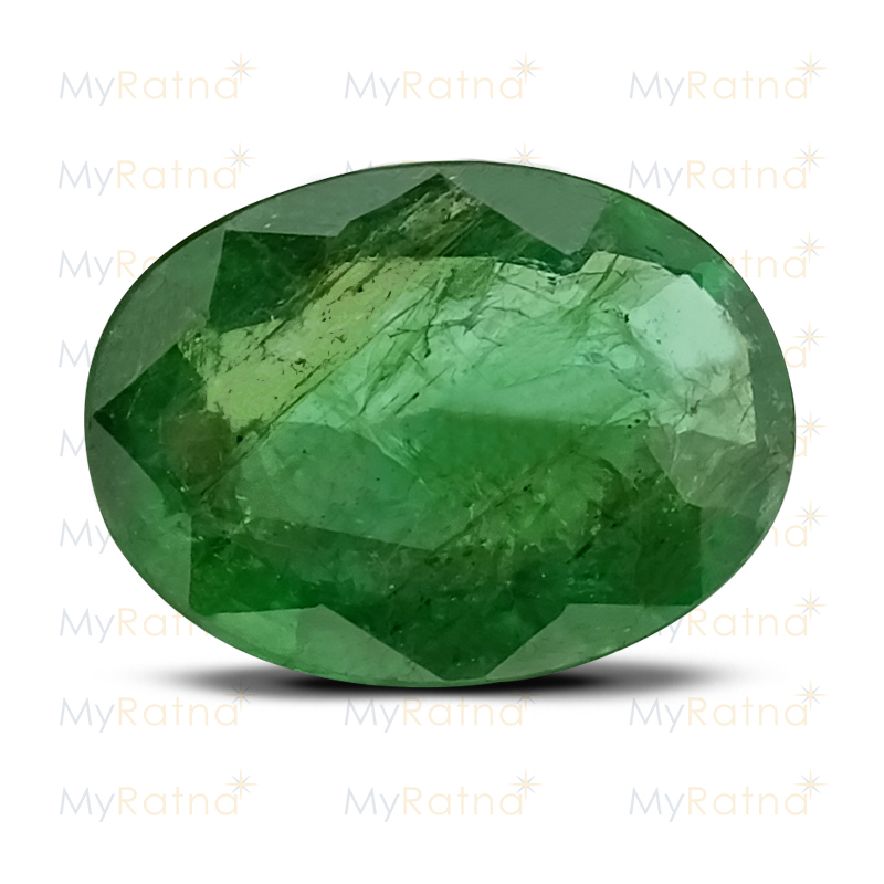 Certified Natural Emerald 2.91 Ct (Zambia) - Prime - MyRatna