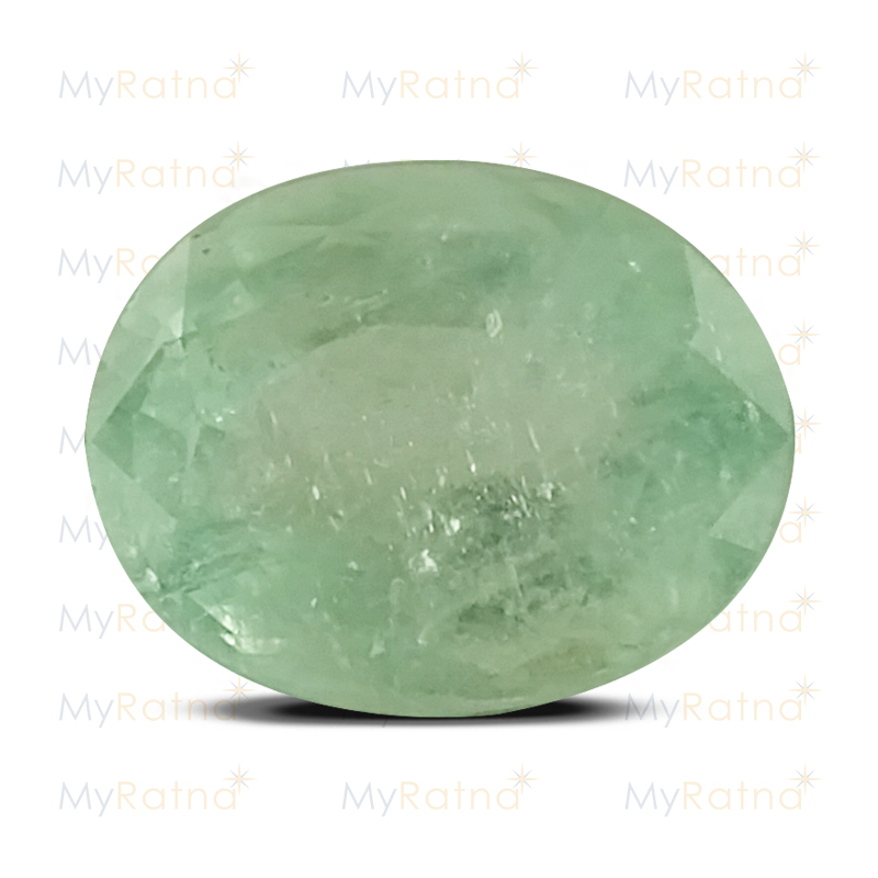 Certified Natural Emerald 3.08 Ct (Colombia) - Fine - MyRatna