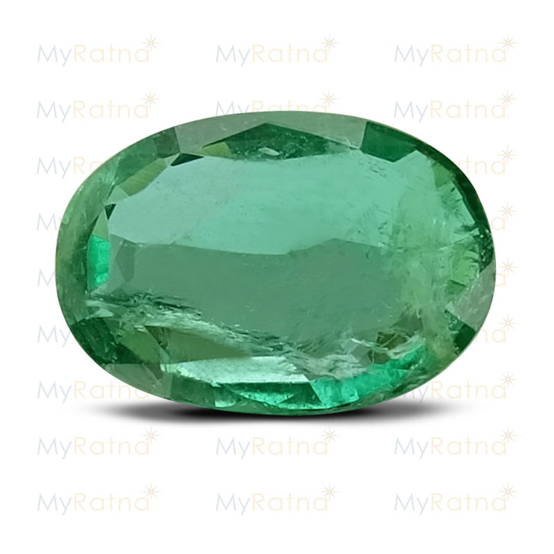 Certified Natural Emerald 2.57 Ct (Zambia) - Prime - MyRatna