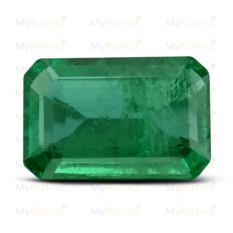 Certified Natural Emerald 3.41 Ct (Zambia) - Limited - MyRatna