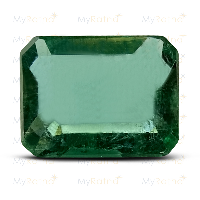 Certified Natural Emerald 3.26 Ct (Zambia) - Prime - MyRatna