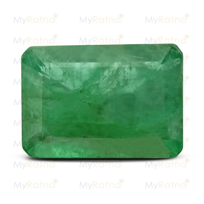 Certified Natural Emerald 3.96 Ct (Zambia) - Fine - MyRatna