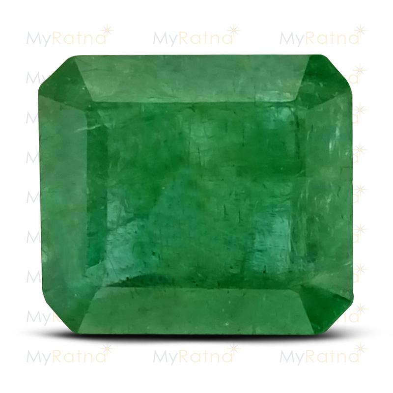 Certified Natural Emerald 3.85 Ct (Zambia) - Prime - MyRatna