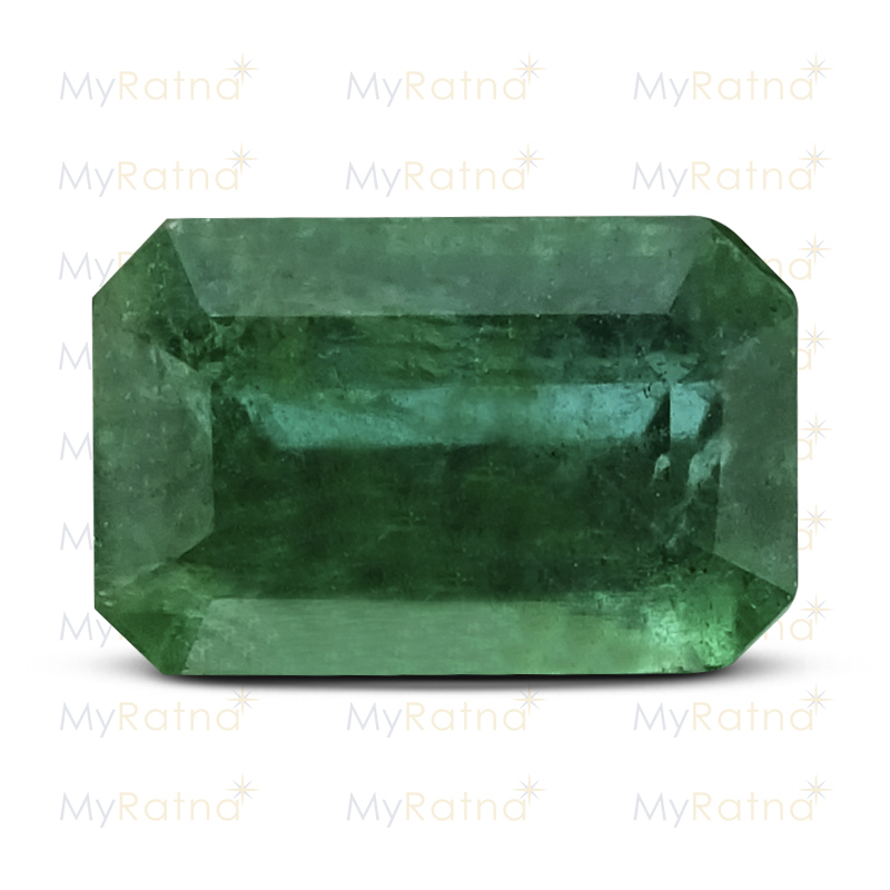 Certified Natural Emerald 3.29 Ct (Zambia) - Prime - MyRatna