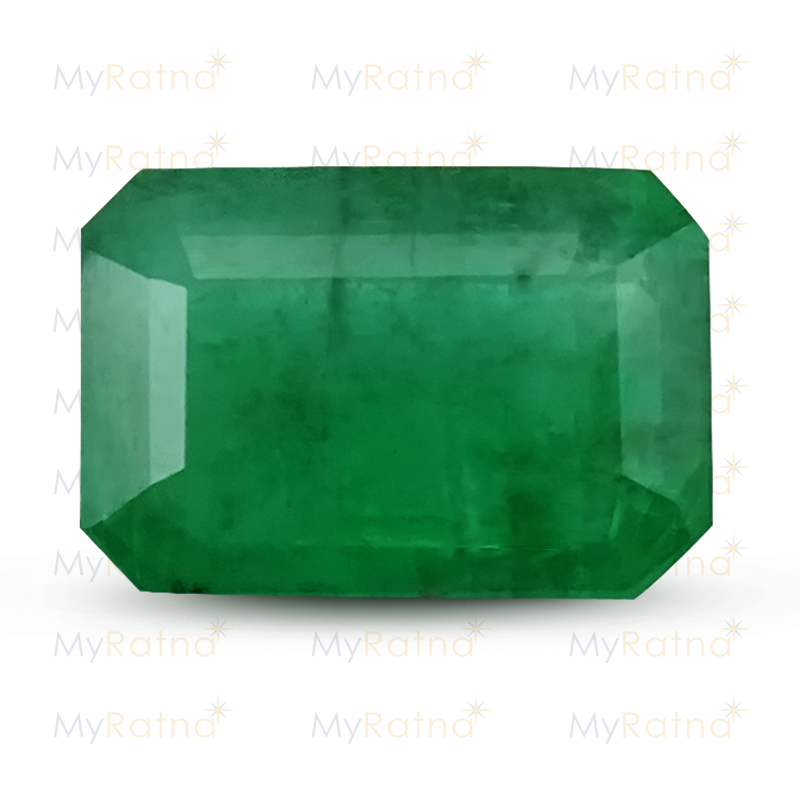 Certified Natural Emerald 3.32 Ct (Zambia) - Prime - MyRatna
