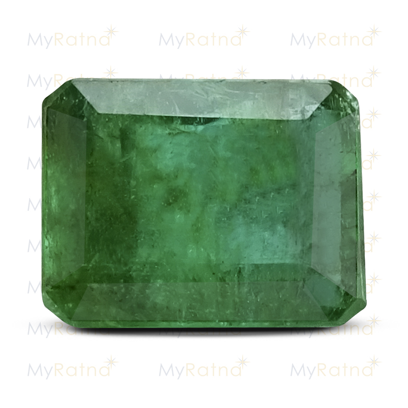Certified Natural Emerald 3.81 Ct (Zambia) - Fine - MyRatna