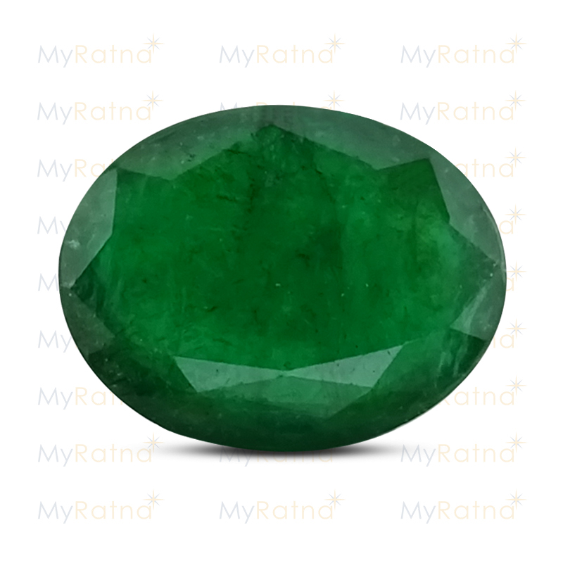 Certified Natural Emerald 7.9 Ct (Zambia) - Fine - MyRatna