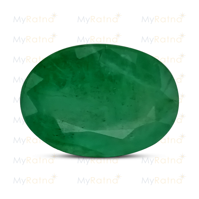 Certified Natural Emerald 6.21 Ct (Zambia) - Fine - MyRatna