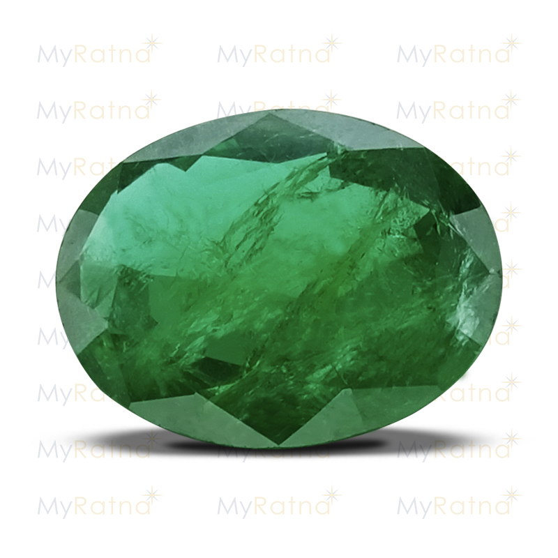Certified Natural Emerald 4.13 Ct (Zambia) - Limited - MyRatna