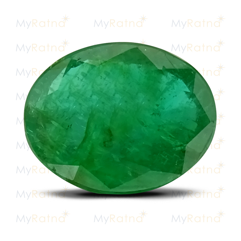 Certified Natural Emerald 3.91 Ct (Zambia) - Fine - MyRatna