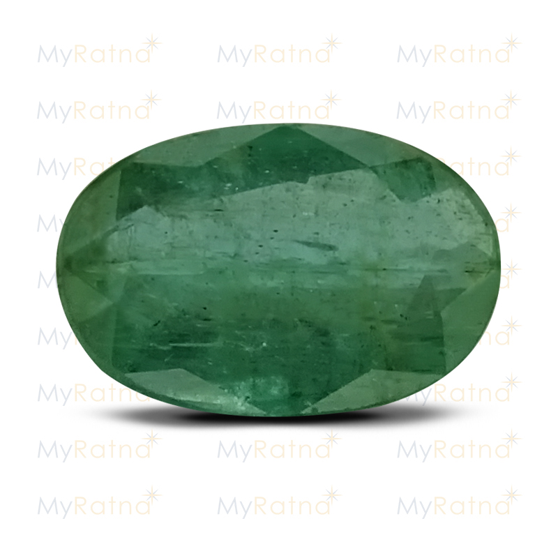 Certified Natural Emerald 3.9 Ct (Zambia) - Fine - MyRatna