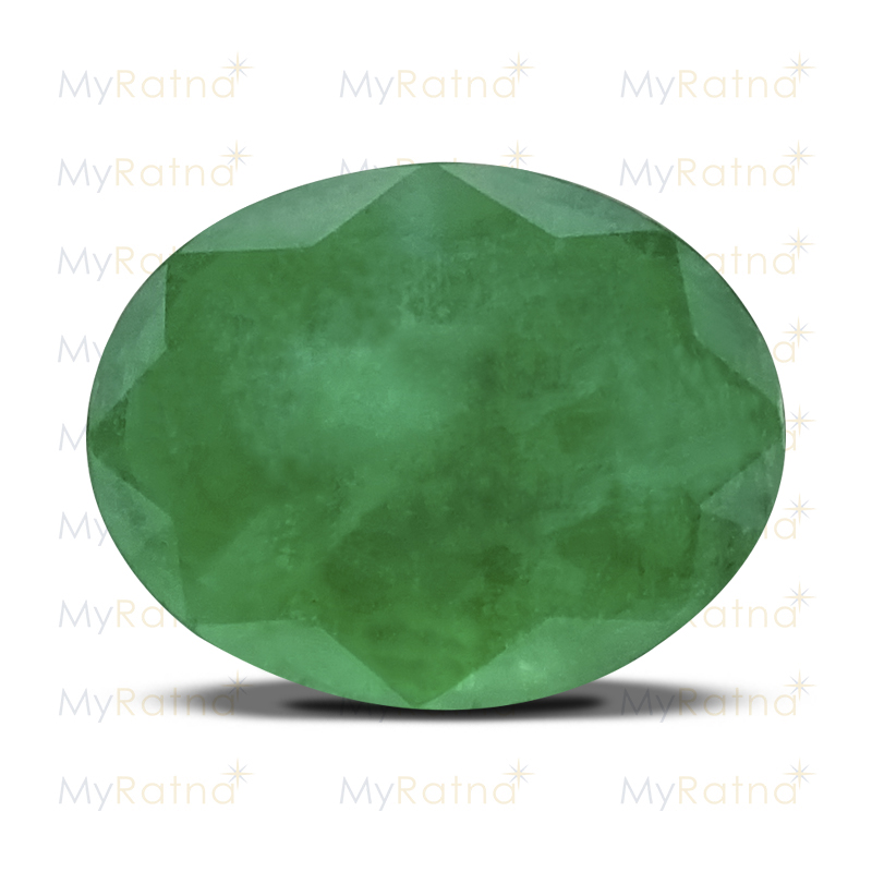 Certified Natural Emerald 3.82 Ct (Zambia) - Prime - MyRatna