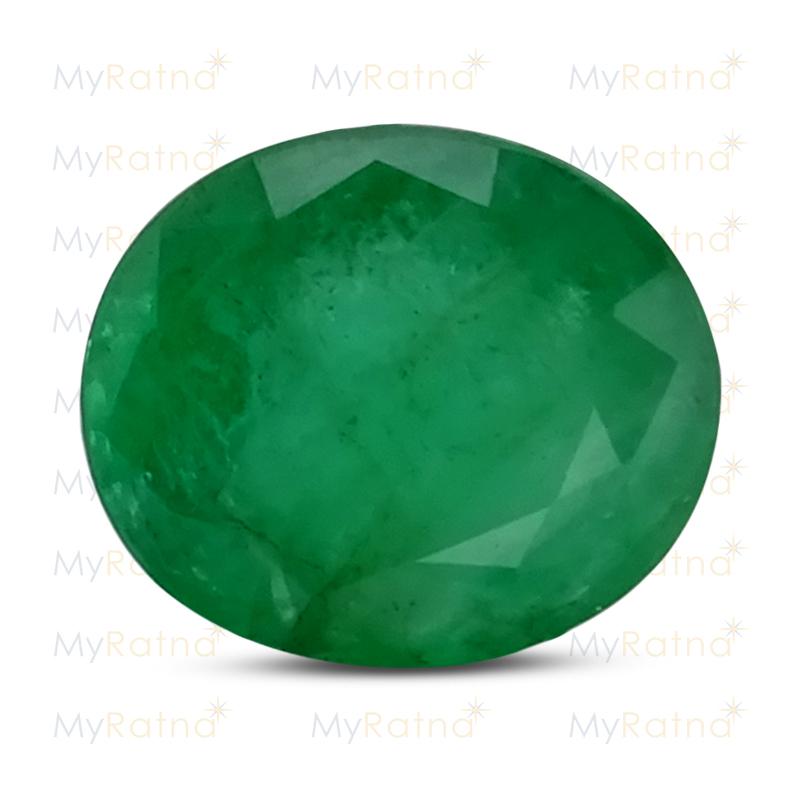 Certified Natural Emerald 3.54 Ct (Zambia) - Prime - MyRatna