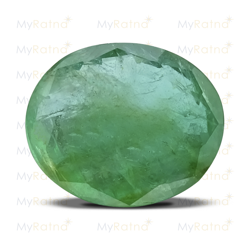Certified Natural Emerald 3.42 Ct (Zambia) - Prime - MyRatna