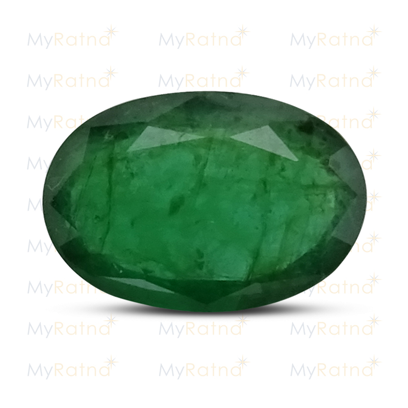 Certified Natural Emerald 2.81 Ct (Zambia) - Fine - MyRatna
