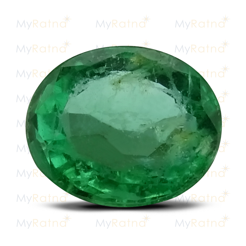 Certified Natural Emerald 2.82 Ct (Zambia) - Prime - MyRatna