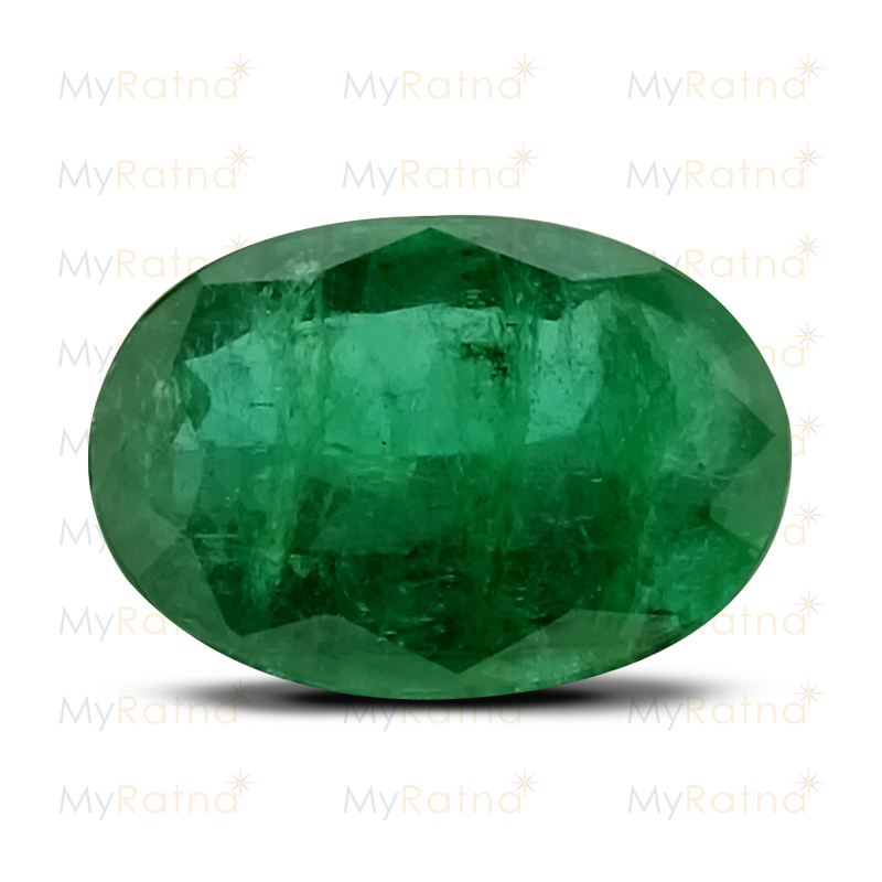 Certified Natural Emerald 2.95 Ct (Zambia) - Prime - MyRatna