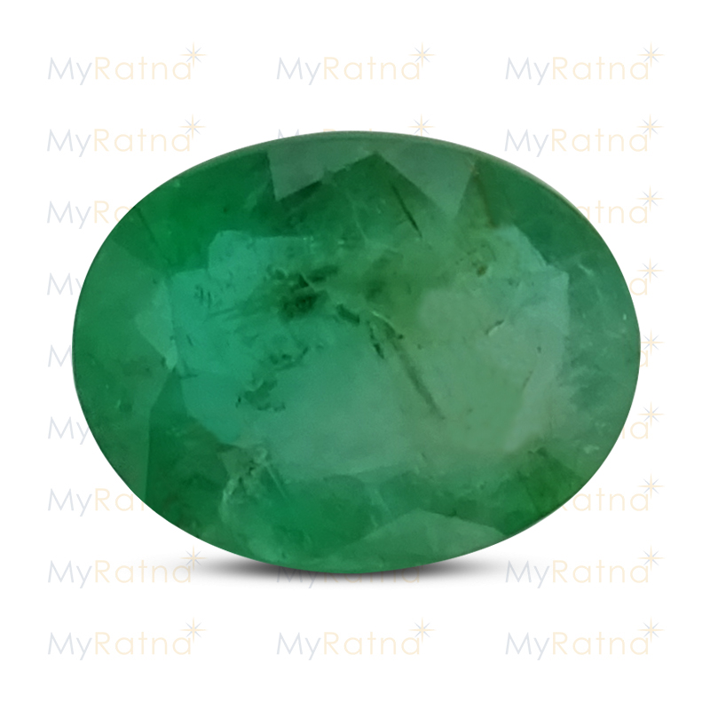 Certified Natural Emerald 2.74 Ct (Zambia) - Fine - MyRatna