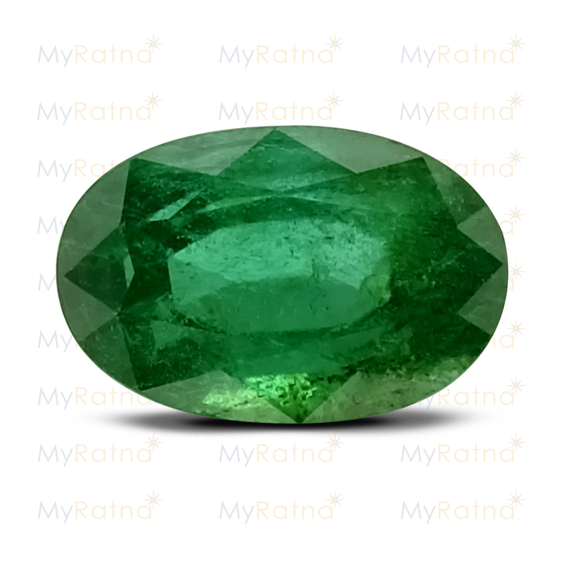 Certified Natural Emerald 2.96 Ct (Zambia) - Prime - MyRatna