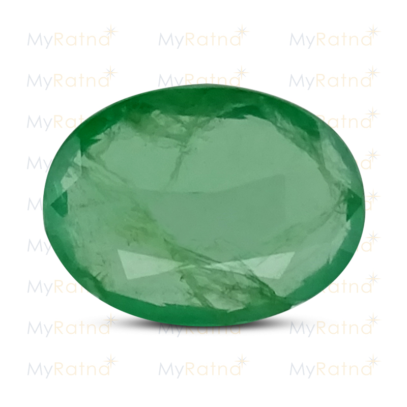 Certified Natural Emerald 2.51 Ct (Zambia) - Prime - MyRatna