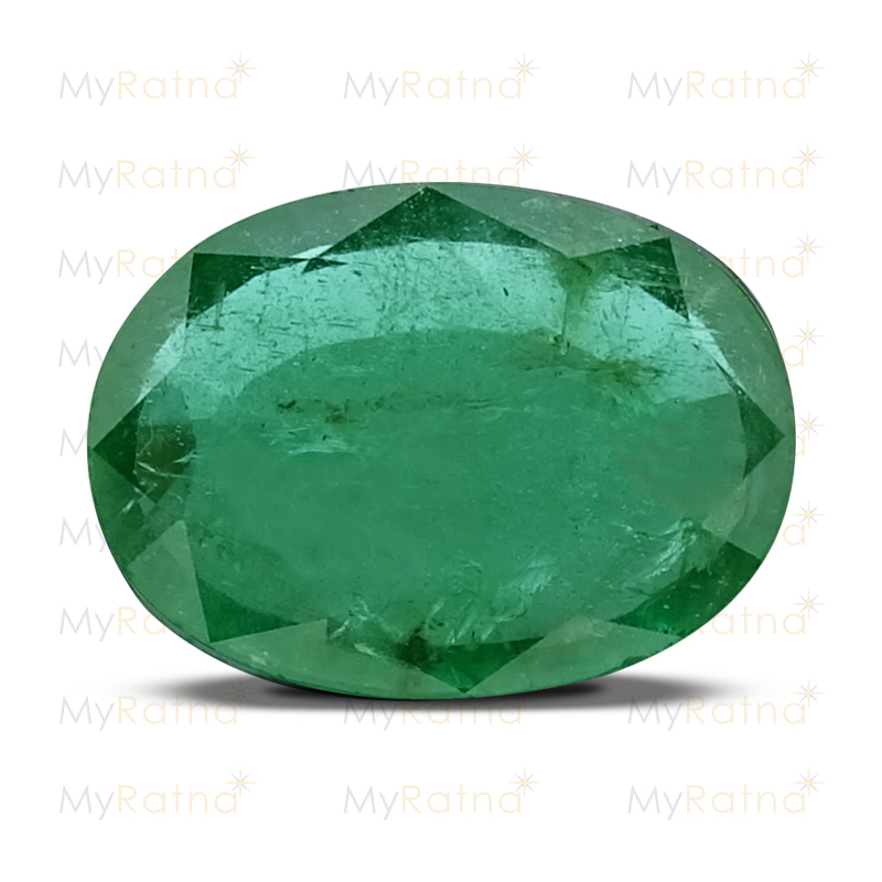Certified Natural Emerald 4.37 Ct (Zambia) - Prime - MyRatna